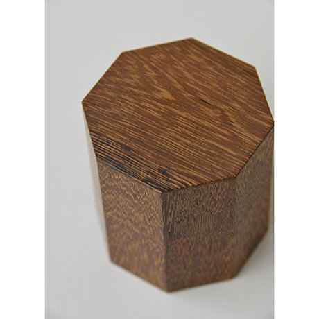 「No.4 鉄刀木茶器 / Tea caddy, Bombay black wood」の写真 その3