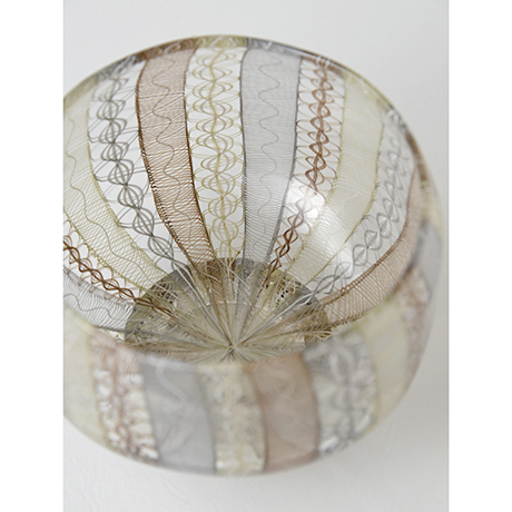 「No.45 小西潮 うり坊茶碗 / KONISHI Ushio Tea bowl, Glass」の写真 その5