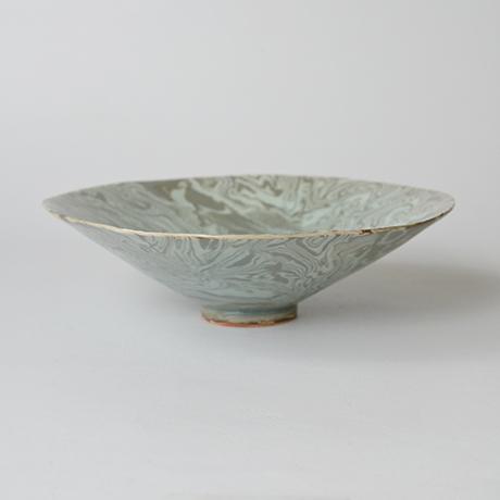 「No.47 若尾経 練込茶碗 / WAKAO Kei Tea bowl」の写真 その2