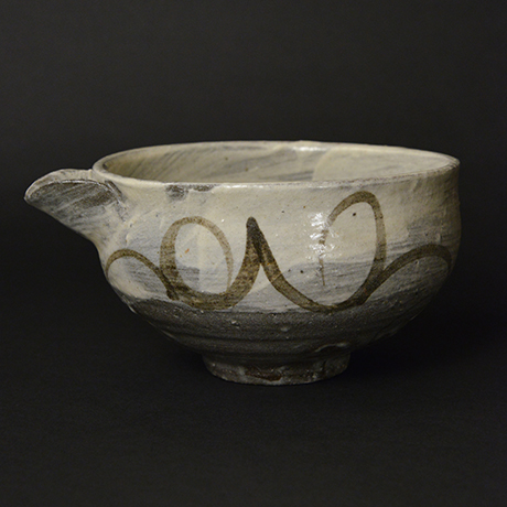 「No.5 絵刷毛目片口 / Lipped bowl, E-hakeme」の写真 その1