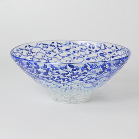 「No.50 江波冨士子 玻璃茶碗 / ENAMI Fujiko Tea bowl, Glass」の写真 その1
