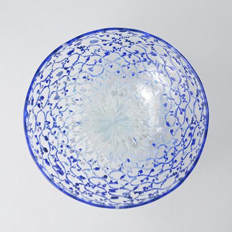 「No.50 江波冨士子 玻璃茶碗 / ENAMI Fujiko Tea bowl, Glass」の写真 その2