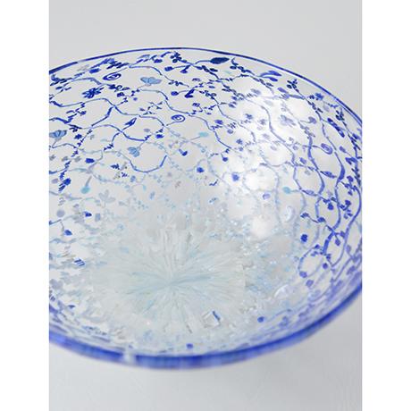 「No.50 江波冨士子 玻璃茶碗 / ENAMI Fujiko Tea bowl, Glass」の写真 その3