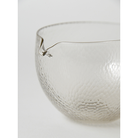 「No.51 津田清和 鎚目丸片口 / TSUDA Kiyokazu Lipped bowl, Glass」の写真 その2