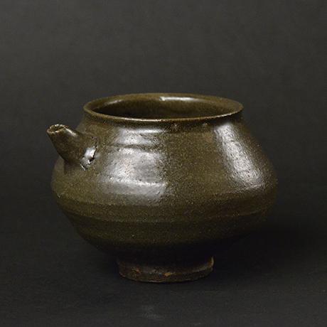 「No.6 黒釉片口 / Lipped bowl, Black glazed」の写真 その1