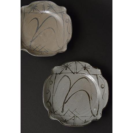 「No.98 絵唐津向付揃 五 / A set of 5 bowls, E-karatsu」の写真 その2