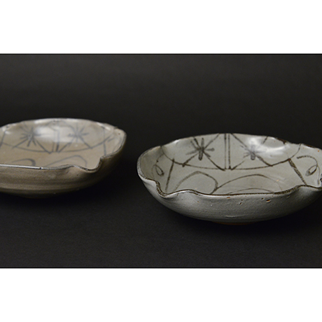 「No.98 絵唐津向付揃 五 / A set of 5 bowls, E-karatsu」の写真 その4