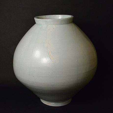「No.14 白瓷大壷 / Big vessel, White porcelain」の写真 その1
