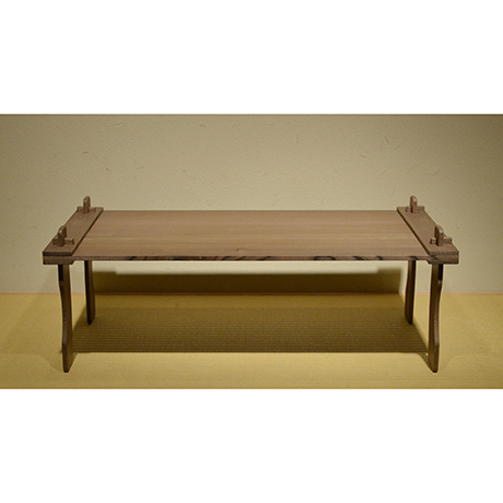 「No.1 弥生机 神代ケヤキ / Table, Yayoi period style, Ancient Zelkova」の写真 その1