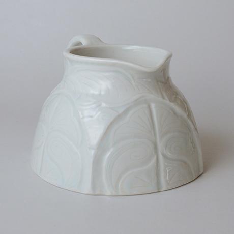 「No.14 ピッチャー 大 / Water jug, White porcelain」の写真 その2