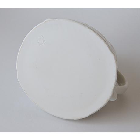 「No.14 ピッチャー 大 / Water jug, White porcelain」の写真 その4