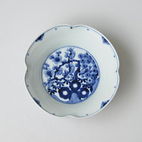 「No.16 松竹梅文四方押向付  / Square dish, Pine, bamboo and plum design, Sometsuke」の写真 その2