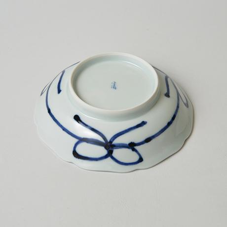 「No.17 葡萄唐草文輪花向付 / Dish with grape arabesque design, Sometsuke」の写真 その3