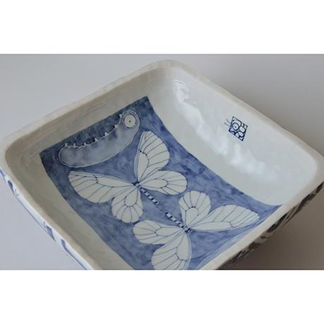 「No.2 陶箱 大 / Ornamental box, Sometsuke」の写真 その5