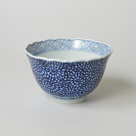 「No.20 蛸唐草文輪花深向付  / Dish with octopus arabesque design, Sometsuke」の写真 その1