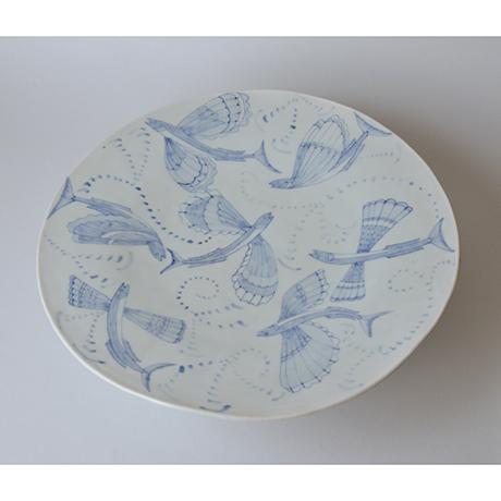 「No.25 台付大皿 / Plate, Sometsuke」の写真 その3