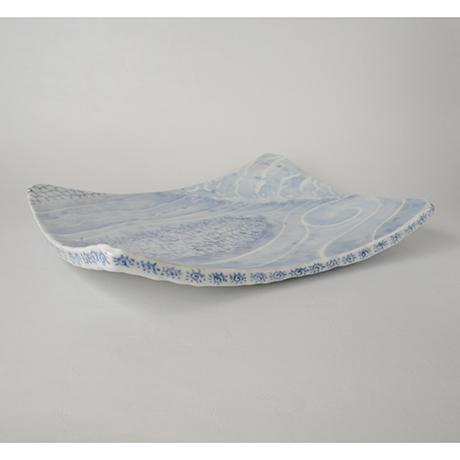 「No.30 長方タタキ皿 / Rectangular plate, Sometsuke」の写真 その2