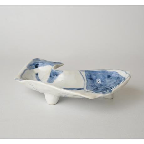 「No.32-1 鯰向付/ Plate, Catfish shape, Sometsuke」の写真 その2