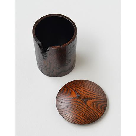 「No.34 金輪寺小 蔦 / Tea Caddy, Kinrinji type, ivy」の写真 その3