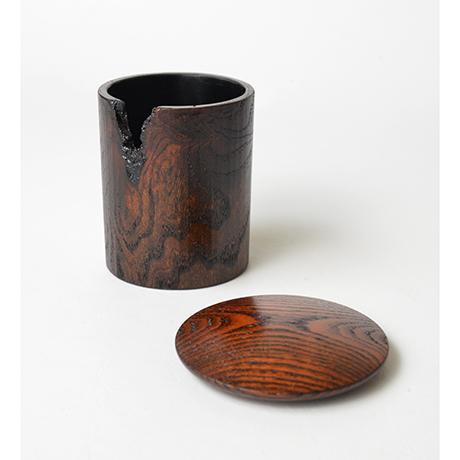 「No.34 金輪寺小 蔦 / Tea Caddy, Kinrinji type, ivy」の写真 その4
