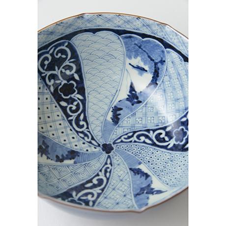 「No.35 祥瑞山水図八角中鉢  / Octagonal bowl with landscape design, Sometsuke」の写真 その3