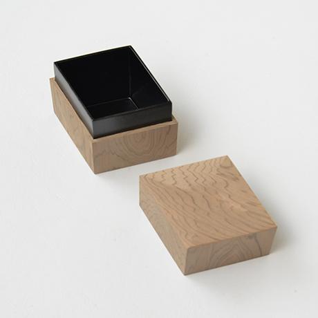 「No.35 菱中次 神代スギ / Tea Caddy, Rhombus shape, Ancient Japanese Cedar」の写真 その3
