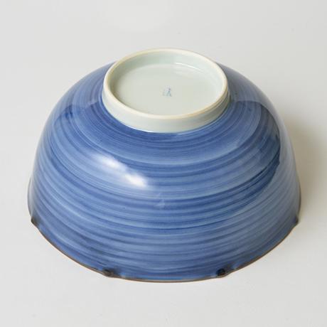 「No.35 祥瑞山水図八角中鉢  / Octagonal bowl with landscape design, Sometsuke」の写真 その4