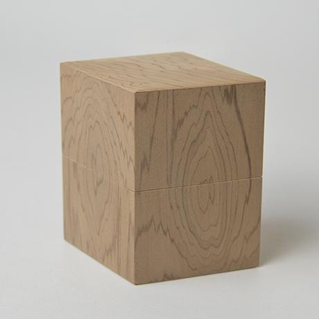 「No.35 菱中次 神代スギ / Tea Caddy, Rhombus shape, Ancient Japanese Cedar」の写真 その4