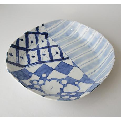 「No.38 タタキ大平鉢 / Plate, Sometsuke」の写真 その1