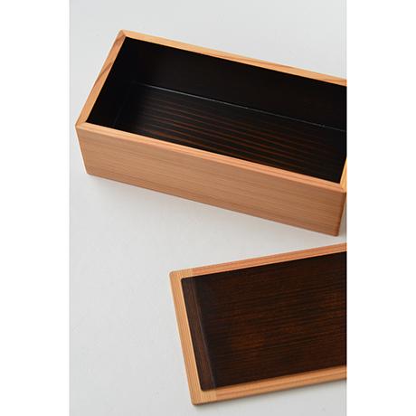 「No.38-1 弁当箱 スギ / Lunch box, Japanese cedar」の写真 その3