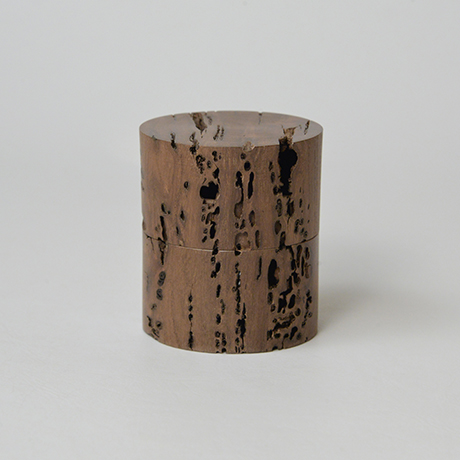 「No.DM4 中次 神代ケヤキ  / Tea Caddy, Nakatsugi shaped, Ancient Zelkova」の写真 その1