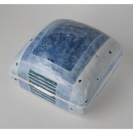 「No.4 陶箱 中 / Ornamental box, Sometsuke」の写真 その1