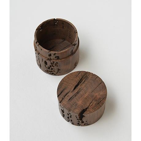 「No.DM4 中次 神代ケヤキ  / Tea Caddy, Nakatsugi shaped, Ancient Zelkova」の写真 その3