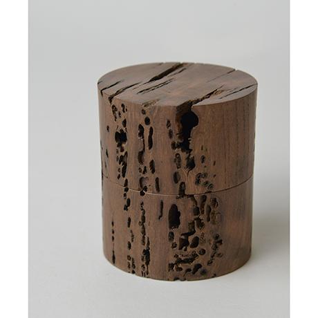 「No.DM4 中次 神代ケヤキ  / Tea Caddy, Nakatsugi shaped, Ancient Zelkova」の写真 その4