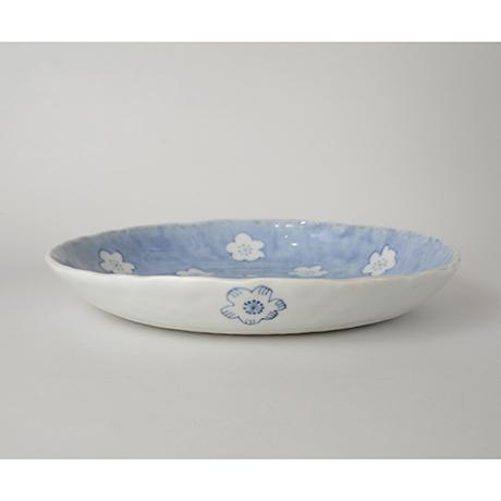 「No.41 丸平鉢 / Round plate, Sometsuke」の写真 その2