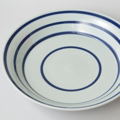 「No.42 横縞文大鉢 / Bowl, Sometsuke」の写真 その1