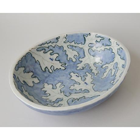 「No.46 楕円タタキ鉢 / Bowl, Sometsuke」の写真 その1