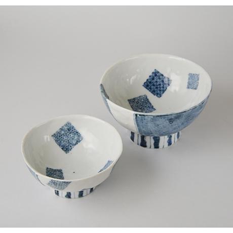 「No.50-3 蓋つき碗 / Bowl with lid, Sometsuke」の写真 その4
