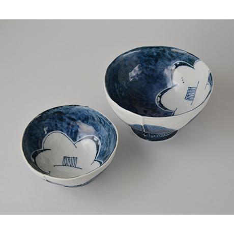 「No.50-4 蓋つき碗 / Bowl with lid, Sometsuke」の写真 その4