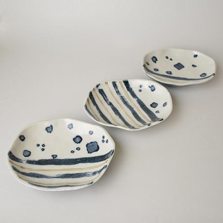 「No.54 足付皿 六 / A set of 6 plates, Sometsuke」の写真 その2