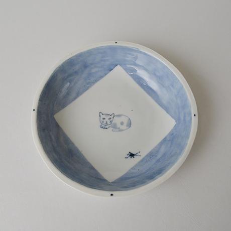 「No.57 丸深皿 五 / A set of 5 round plates, Sometsuke」の写真 その3