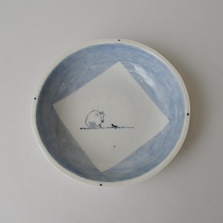 「No.57 丸深皿 五 / A set of 5 round plates, Sometsuke」の写真 その4