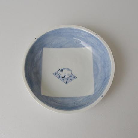 「No.57 丸深皿 五 / A set of 5 round plates, Sometsuke」の写真 その6