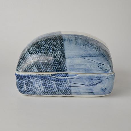 「No.6 陶箱 中 / Ornamental box, Sometsuke」の写真 その2