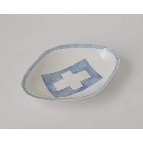 「No.60 菱形皿 五 / A set of 5 plates, Rhombus shape, Sometsuke」の写真 その3
