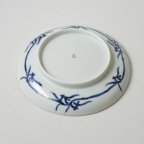 「No.7 飛馬文皿 七寸 / Dish with horse design, Sometsuke」の写真 その3