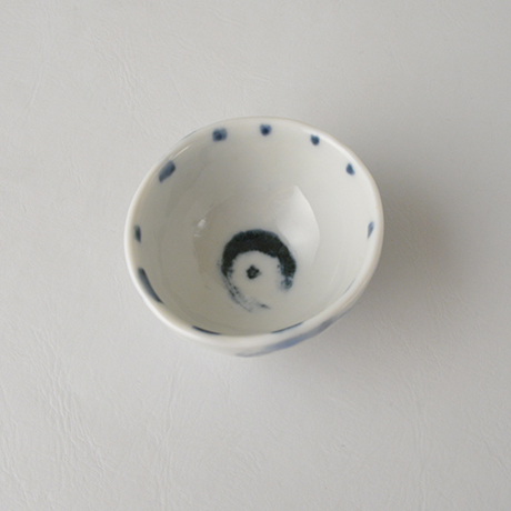 「No.85-1 猪口 / Sake cup, Sometsuke」の写真 その3