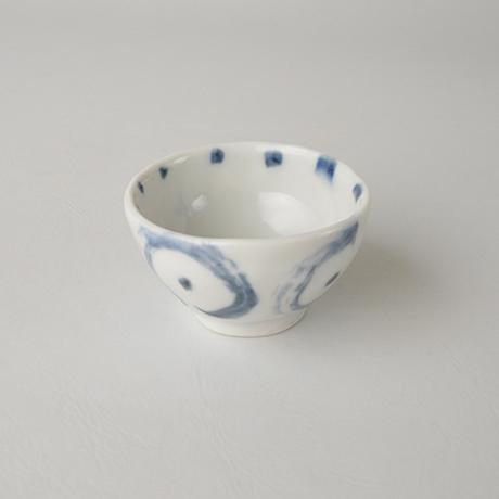 「No.85-1 猪口 / Sake cup, Sometsuke」の写真 その2