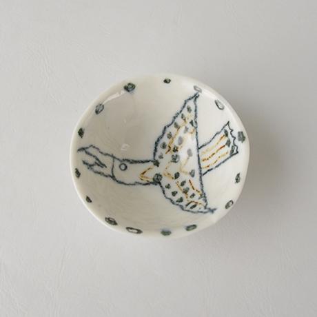 「No.85-2 猪口 / Sake cup, Sometsuke」の写真 その2