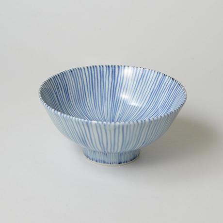 「No.9 木賊文高台向付 / Dish with horsetail design, Sometsuke」の写真 その1